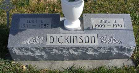 KAPER DICKINSON, EDNA E. - Box Butte County, Nebraska | EDNA E. KAPER DICKINSON - Nebraska Gravestone Photos