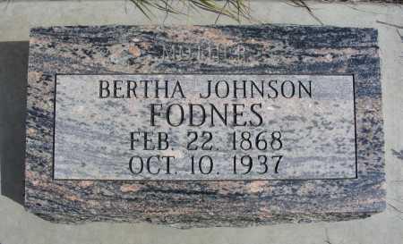 FODNES, BERTHA - Box Butte County, Nebraska   BERTHA FODNES - Nebraska Gravestone Photos