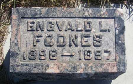 FODNES, ENGVALD L. - Box Butte County, Nebraska | ENGVALD L. FODNES - Nebraska Gravestone Photos