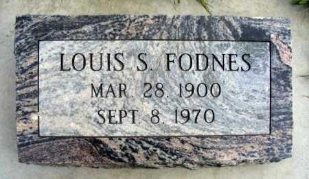 FODNES, LOUIS S. - Box Butte County, Nebraska | LOUIS S. FODNES - Nebraska Gravestone Photos