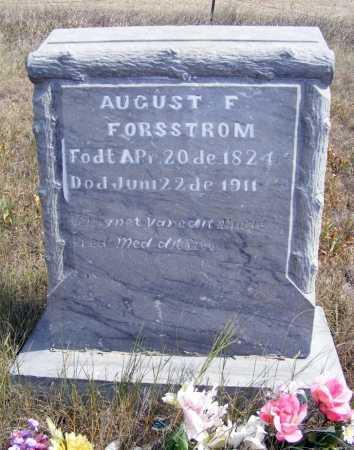 FORSSTROM, AUGUST F. - Box Butte County, Nebraska | AUGUST F. FORSSTROM - Nebraska Gravestone Photos