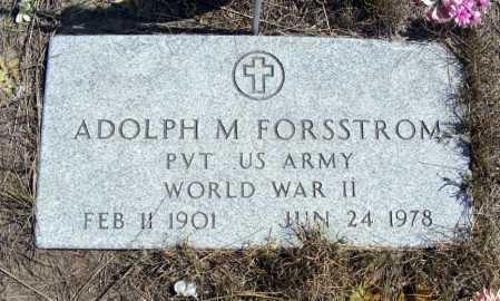 FORSSTROM, ADOLPH M. - Box Butte County, Nebraska | ADOLPH M. FORSSTROM - Nebraska Gravestone Photos