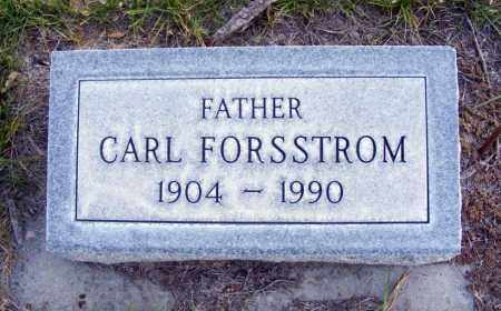 FORSSTROM, CARL - Box Butte County, Nebraska   CARL FORSSTROM - Nebraska Gravestone Photos