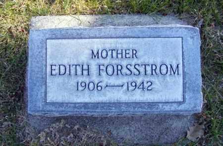 FORSSTROM, EDITH - Box Butte County, Nebraska | EDITH FORSSTROM - Nebraska Gravestone Photos