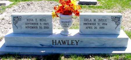 "HAWLEY, ORLA M. ""BRIGG"" - Box Butte County, Nebraska 