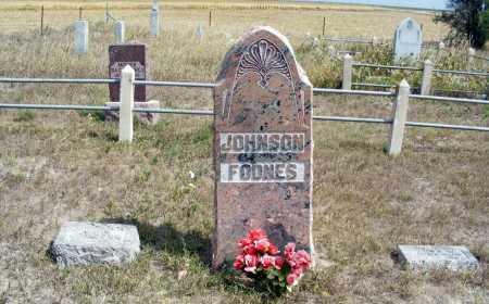JOHNSON FODNES, FAMILY - Box Butte County, Nebraska | FAMILY JOHNSON FODNES - Nebraska Gravestone Photos