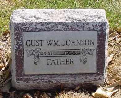 JOHNSON, GUST WILLIAM - Box Butte County, Nebraska | GUST WILLIAM JOHNSON - Nebraska Gravestone Photos