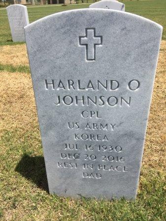 JOHNSON, HARLAND O - Box Butte County, Nebraska | HARLAND O JOHNSON - Nebraska Gravestone Photos