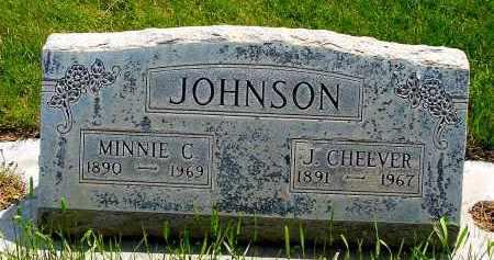 JOHNSON, J. CHEEVER - Box Butte County, Nebraska | J. CHEEVER JOHNSON - Nebraska Gravestone Photos