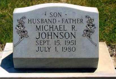 JOHNSON, MICHAEL R. - Box Butte County, Nebraska | MICHAEL R. JOHNSON - Nebraska Gravestone Photos