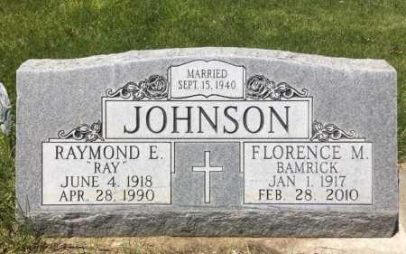 BAMRICK JOHNSON, FLORENCE M. - Box Butte County, Nebraska | FLORENCE M. BAMRICK JOHNSON - Nebraska Gravestone Photos