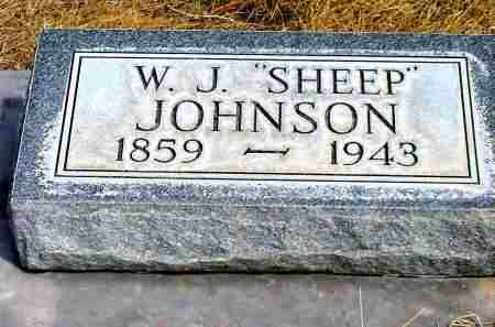 "JOHNSON, W.J. ""SHEEP"" - Box Butte County, Nebraska   W.J. ""SHEEP"" JOHNSON - Nebraska Gravestone Photos"