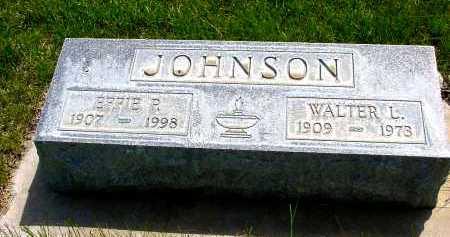 JOHNSON, WALTER L. - Box Butte County, Nebraska | WALTER L. JOHNSON - Nebraska Gravestone Photos