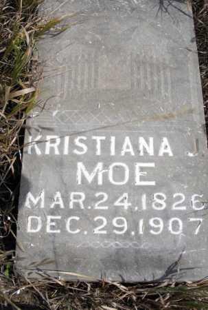 MOE, KRISTIANA J. - Box Butte County, Nebraska | KRISTIANA J. MOE - Nebraska Gravestone Photos