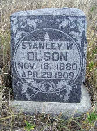 OLSON, STANLEY W. - Box Butte County, Nebraska   STANLEY W. OLSON - Nebraska Gravestone Photos