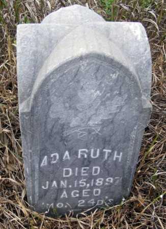 RENSVOLD, ADA RUTH - Box Butte County, Nebraska | ADA RUTH RENSVOLD - Nebraska Gravestone Photos