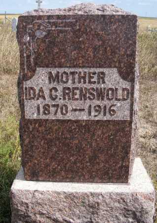 RENSVOLD, IDA C. - Box Butte County, Nebraska   IDA C. RENSVOLD - Nebraska Gravestone Photos
