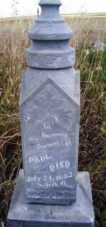 RENSVOLD, PAUL - Box Butte County, Nebraska | PAUL RENSVOLD - Nebraska Gravestone Photos