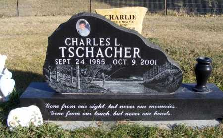 TSCHACHER, CHARLES L. - Box Butte County, Nebraska | CHARLES L. TSCHACHER - Nebraska Gravestone Photos