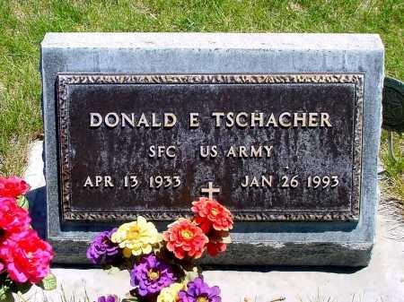 TSCHACHER, DONALD E. - Box Butte County, Nebraska   DONALD E. TSCHACHER - Nebraska Gravestone Photos