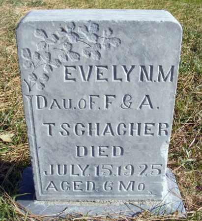 TSCHACHER, EVELYN M. - Box Butte County, Nebraska | EVELYN M. TSCHACHER - Nebraska Gravestone Photos