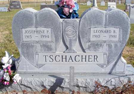 TSCHACHER, LEONARD B. - Box Butte County, Nebraska | LEONARD B. TSCHACHER - Nebraska Gravestone Photos