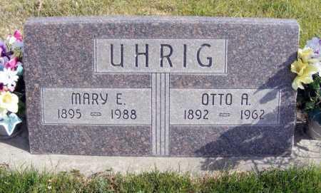 UHRIG, OTTO A. - Box Butte County, Nebraska | OTTO A. UHRIG - Nebraska Gravestone Photos