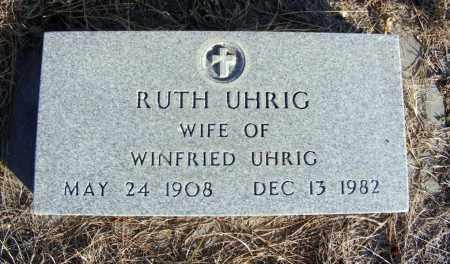UHRIG, RUTH - Box Butte County, Nebraska   RUTH UHRIG - Nebraska Gravestone Photos