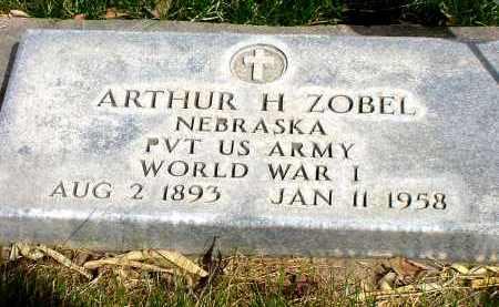 ZOBEL, ARTHUR H. - Box Butte County, Nebraska | ARTHUR H. ZOBEL - Nebraska Gravestone Photos