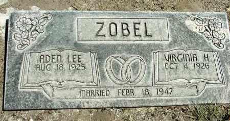 ZOBEL, VIRGINIA H. - Box Butte County, Nebraska | VIRGINIA H. ZOBEL - Nebraska Gravestone Photos