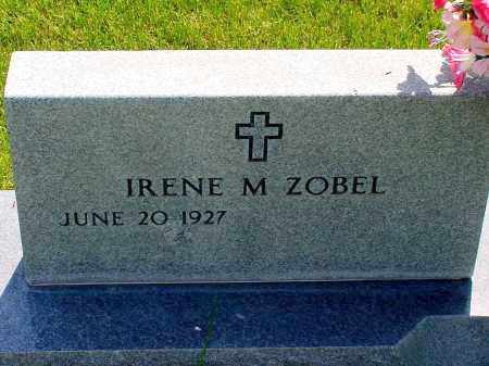 ZOBEL, IRENE M. - Box Butte County, Nebraska | IRENE M. ZOBEL - Nebraska Gravestone Photos