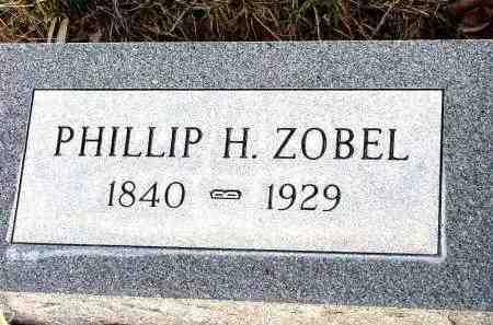 ZOBEL, PHILLIP H. - Box Butte County, Nebraska | PHILLIP H. ZOBEL - Nebraska Gravestone Photos