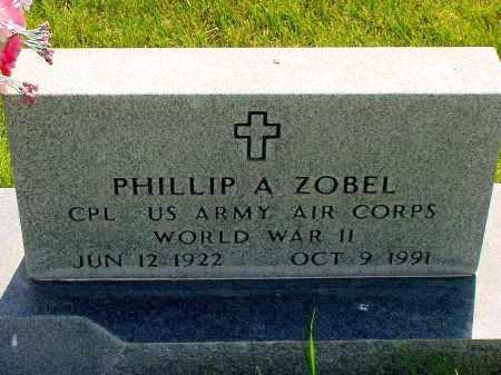 ZOBEL, PHILLIP A. - Box Butte County, Nebraska | PHILLIP A. ZOBEL - Nebraska Gravestone Photos
