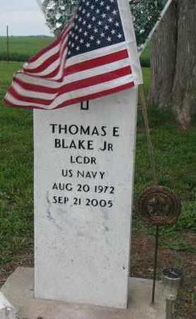 BLAKE, THOMAS E. JR. - Boyd County, Nebraska   THOMAS E. JR. BLAKE - Nebraska Gravestone Photos