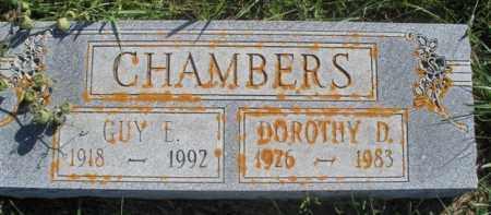 CHAMBERS, DOROTHY D. - Boyd County, Nebraska | DOROTHY D. CHAMBERS - Nebraska Gravestone Photos