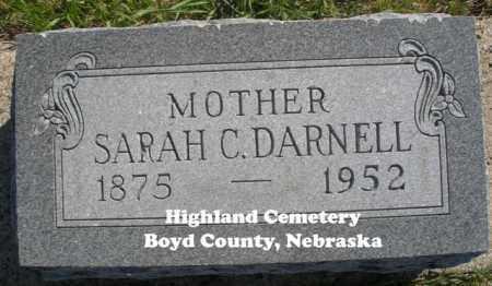 DARNELL, SARAH C. - Boyd County, Nebraska | SARAH C. DARNELL - Nebraska Gravestone Photos