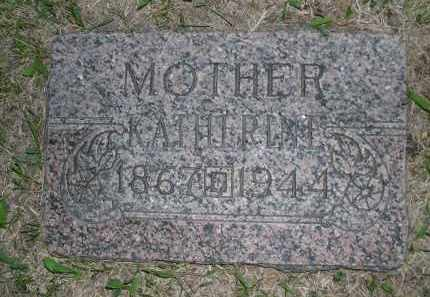 SEDLACEK, KATHERINE - Boyd County, Nebraska | KATHERINE SEDLACEK - Nebraska Gravestone Photos
