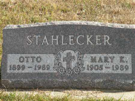STAHLECKER, MARY K. - Boyd County, Nebraska | MARY K. STAHLECKER - Nebraska Gravestone Photos