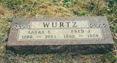 WURTZ, FRED J - Boyd County, Nebraska | FRED J WURTZ - Nebraska Gravestone Photos