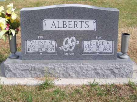 EBY ALBERTS, ARLENE M. - Brown County, Nebraska | ARLENE M. EBY ALBERTS - Nebraska Gravestone Photos