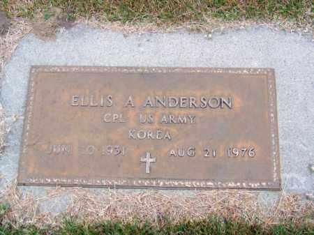 ANDERSON, ELLIS A. - Brown County, Nebraska | ELLIS A. ANDERSON - Nebraska Gravestone Photos