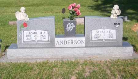 "ANDERSON, GERALD D. ""BUS"" - Brown County, Nebraska   GERALD D. ""BUS"" ANDERSON - Nebraska Gravestone Photos"