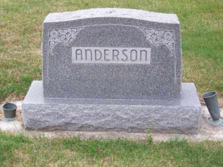 ANDERSON, FAMILY - Brown County, Nebraska | FAMILY ANDERSON - Nebraska Gravestone Photos