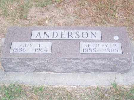 ANDERSON, GUY L. - Brown County, Nebraska | GUY L. ANDERSON - Nebraska Gravestone Photos