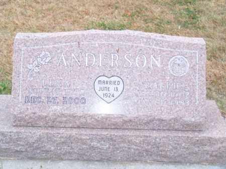 ANDERSON, LENA - Brown County, Nebraska | LENA ANDERSON - Nebraska Gravestone Photos