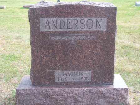 ANDERSON, MAGNUS - Brown County, Nebraska | MAGNUS ANDERSON - Nebraska Gravestone Photos
