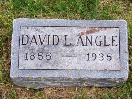 ANGLE, DAVID L. - Brown County, Nebraska | DAVID L. ANGLE - Nebraska Gravestone Photos