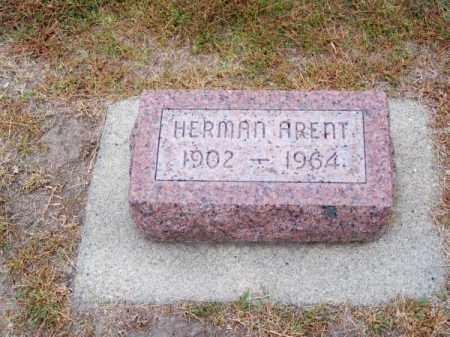 ARENT, HERMAN - Brown County, Nebraska   HERMAN ARENT - Nebraska Gravestone Photos