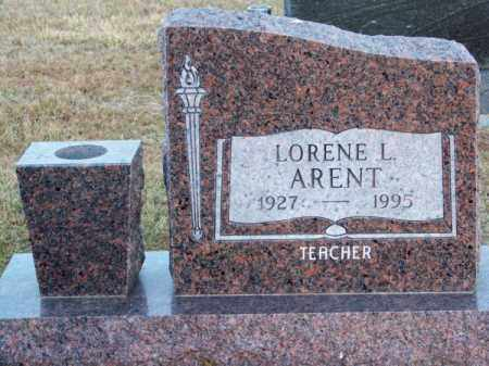 ARENT, LORENE L. - Brown County, Nebraska | LORENE L. ARENT - Nebraska Gravestone Photos