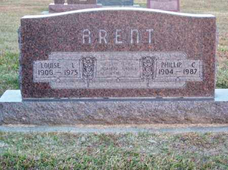 ARENT, PHILLIP C. - Brown County, Nebraska | PHILLIP C. ARENT - Nebraska Gravestone Photos